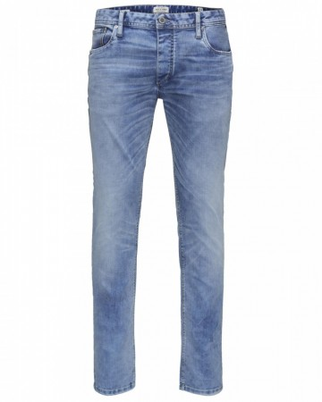 Jack & Jones Herren Jeans JJITIM - Slim Fit - Blau - Blue Denim