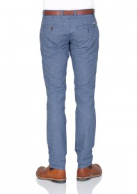 Tom Tailor Herren Chinohose uni long Chino