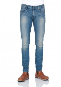G-Star Herren Jeans Revend Super Slim Fit  - Blau - Dark Aged