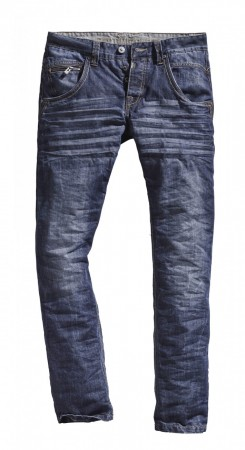 Timezone Herren Jeans HaroldTZ Regular Fit - Blau - Blue Waterline Wash
