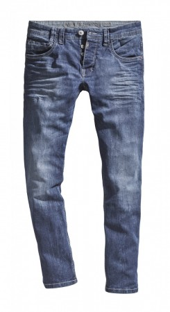 Timezone Herren Jeans GerritTZ Regular Fit - Blau - Surfer Wash