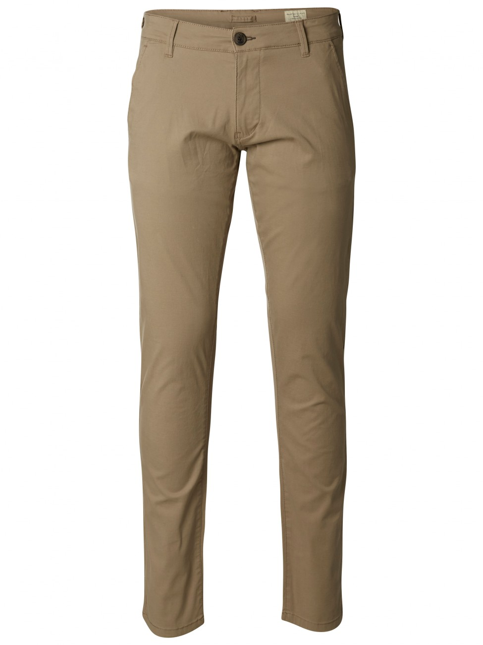 Selected Herren Chino Hose SHHTHREEPARIS - Greige