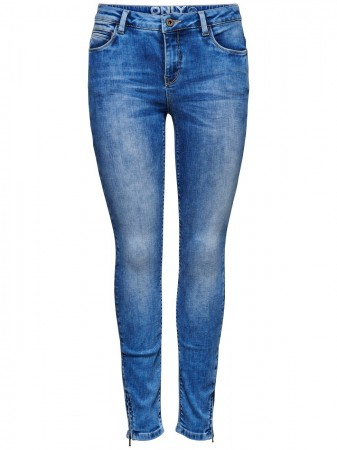 Only Damen Jeans onlKENDELL - Skinny Fit - Blau - Light Blue Denim