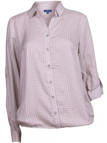 Tom Tailor Damen Bluse Lovely Printed Viscose Blouse