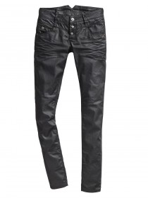 Bild 1 - Timezone Damen Jeans New KairinaTZ - Slim Fit - Schwarz - Black Coated