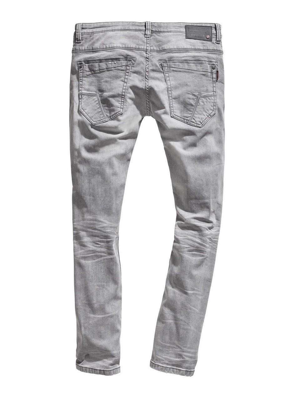 timezone herren jeans costellotz tight fit grau. Black Bedroom Furniture Sets. Home Design Ideas