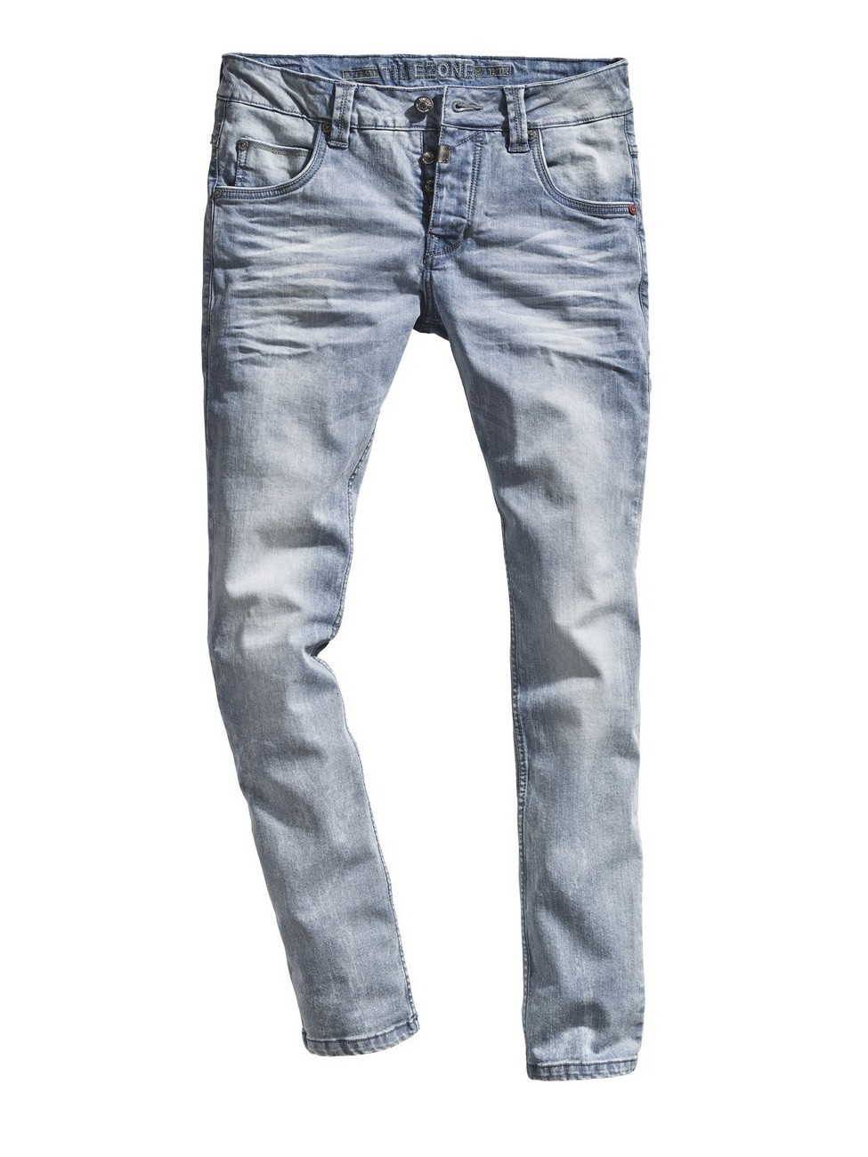 timezone herren jeans edotz slim fit blau vintage blue. Black Bedroom Furniture Sets. Home Design Ideas