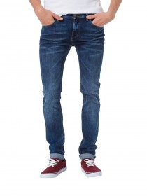 Cross Herren Jeans Toby Skinny Fit - Blau - Savage Blue