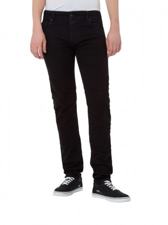Cross Herren Jeans Eddie Skinny Fit - Schwarz - Black