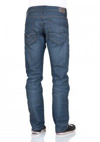 Bild 2 - Replay Herren Jeans Waitom Regular Fit - Slim Leg - Blau - Blue Grey