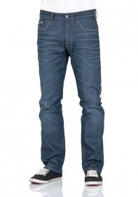 Bild 1 - Replay Herren Jeans Waitom Regular Fit - Slim Leg - Blau - Blue Grey