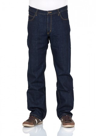 Lee Herren Jeans Brooklyn Comfort Fit - Blau - One Wash