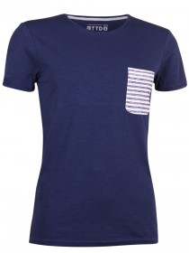 Tom Tailor Denim Herren T-Shirt Light Slub Tee with Pocket