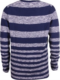 Tom Tailor Denim Herren Pullover Striped Slub Pullover