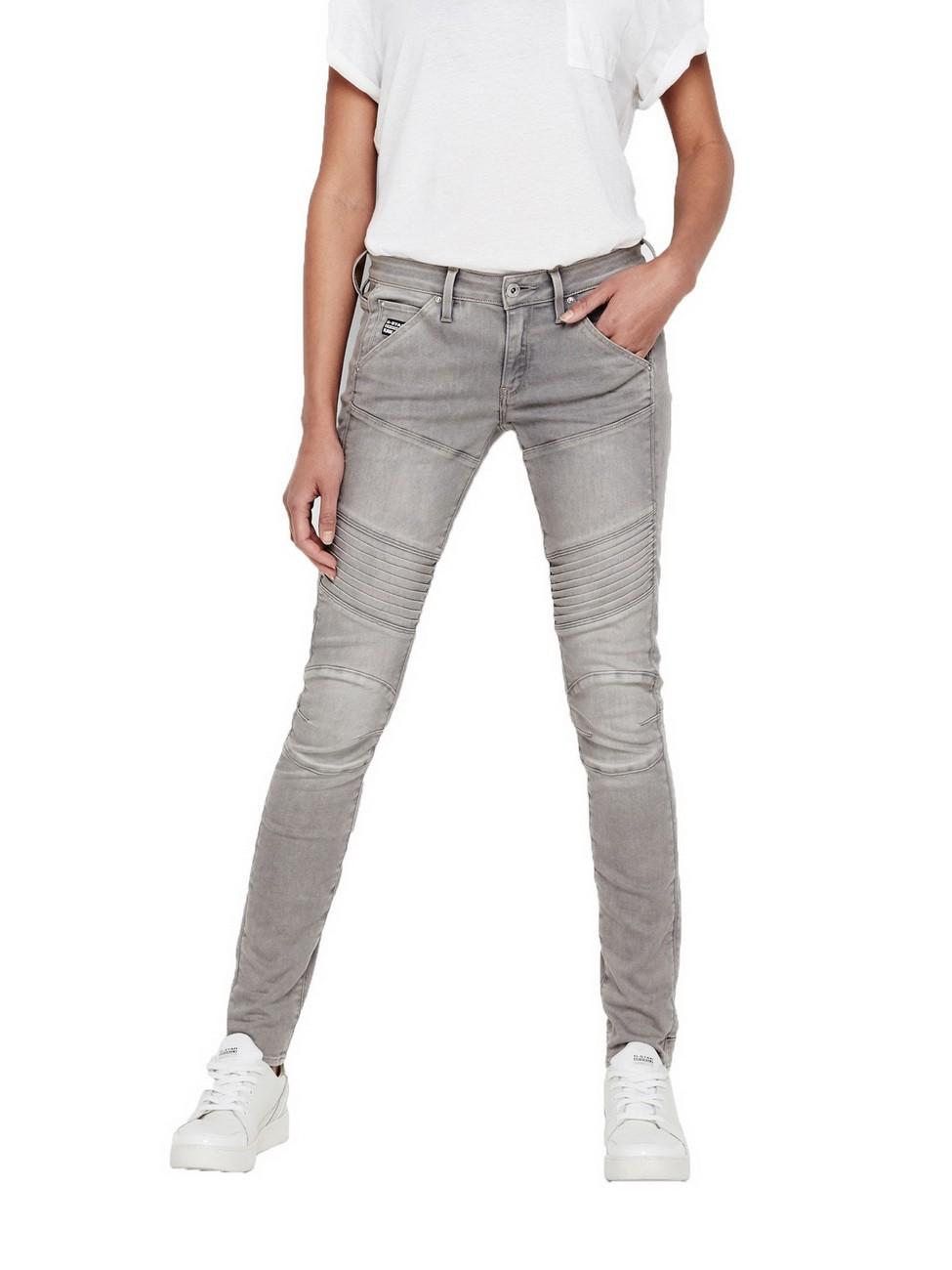 g star damen jeans 5620 custom mid waist skinny jeans. Black Bedroom Furniture Sets. Home Design Ideas