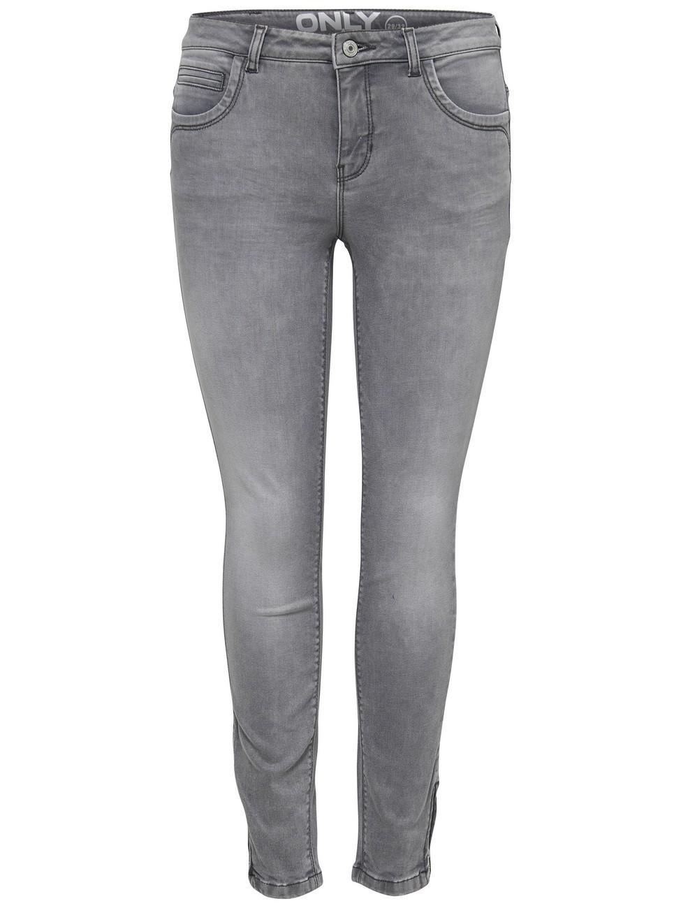 only damen jeans onlkendell grey grau medium grey. Black Bedroom Furniture Sets. Home Design Ideas