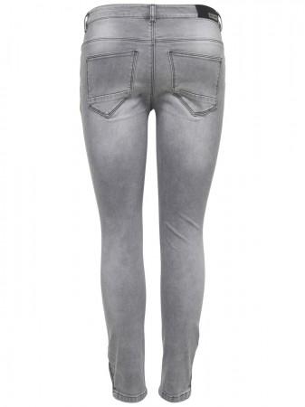 bef929514090 Only Damen Jeans onlKENDELL REG SK ANK JEANS GREY NOOS   eBay