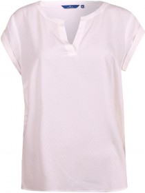 Tom Tailor Damen Blusen T-Shirt mit Struktur