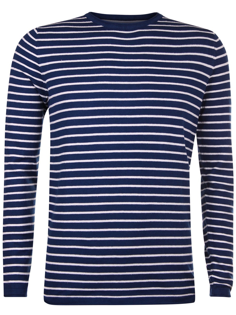 Tom Tailor Herren Sweater Fine Knitted Striped Sweater