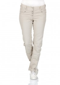 Bild 3 - Tom Tailor Damen Chino Hose Relaxed Tapered