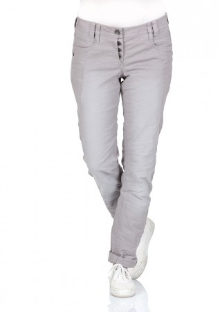 Tom Tailor Damen Chino Hose Relaxed Tapered