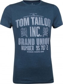 Tom Tailor Herren T-Shirt with Print