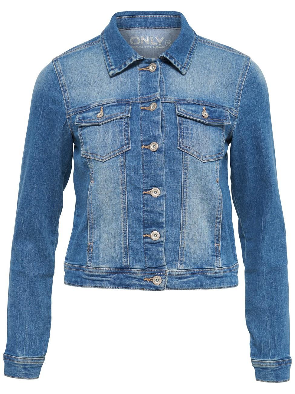 only damen jeansjacke onlnew westa det jacket pim4203 dnm. Black Bedroom Furniture Sets. Home Design Ideas