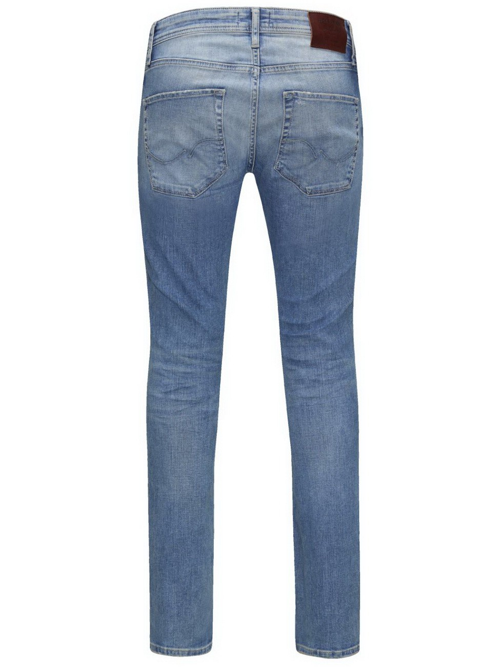 Jack & Jones Herren Jeans JJITIM ORIGINAL JJ 925 Slim Fit - Blau - Blue Denim