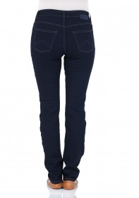 Bild 2 - Mustang Damen Jeans Soft & Perfect - Slim Fit - Rinse Washed