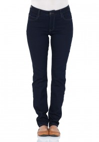 Bild 1 - Mustang Damen Jeans Soft & Perfect - Slim Fit - Rinse Washed