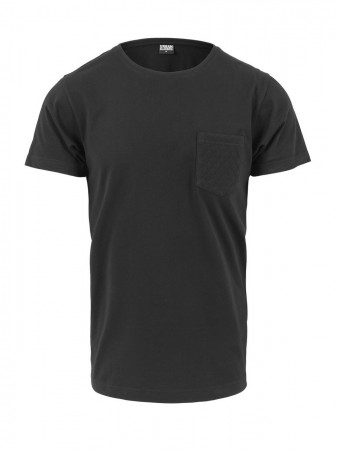 Urban Classics Herren Quilted Pocket T-Shirt