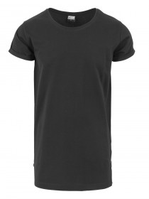 Urban Classics Herren Long Shaped Side Zip T-Shirt