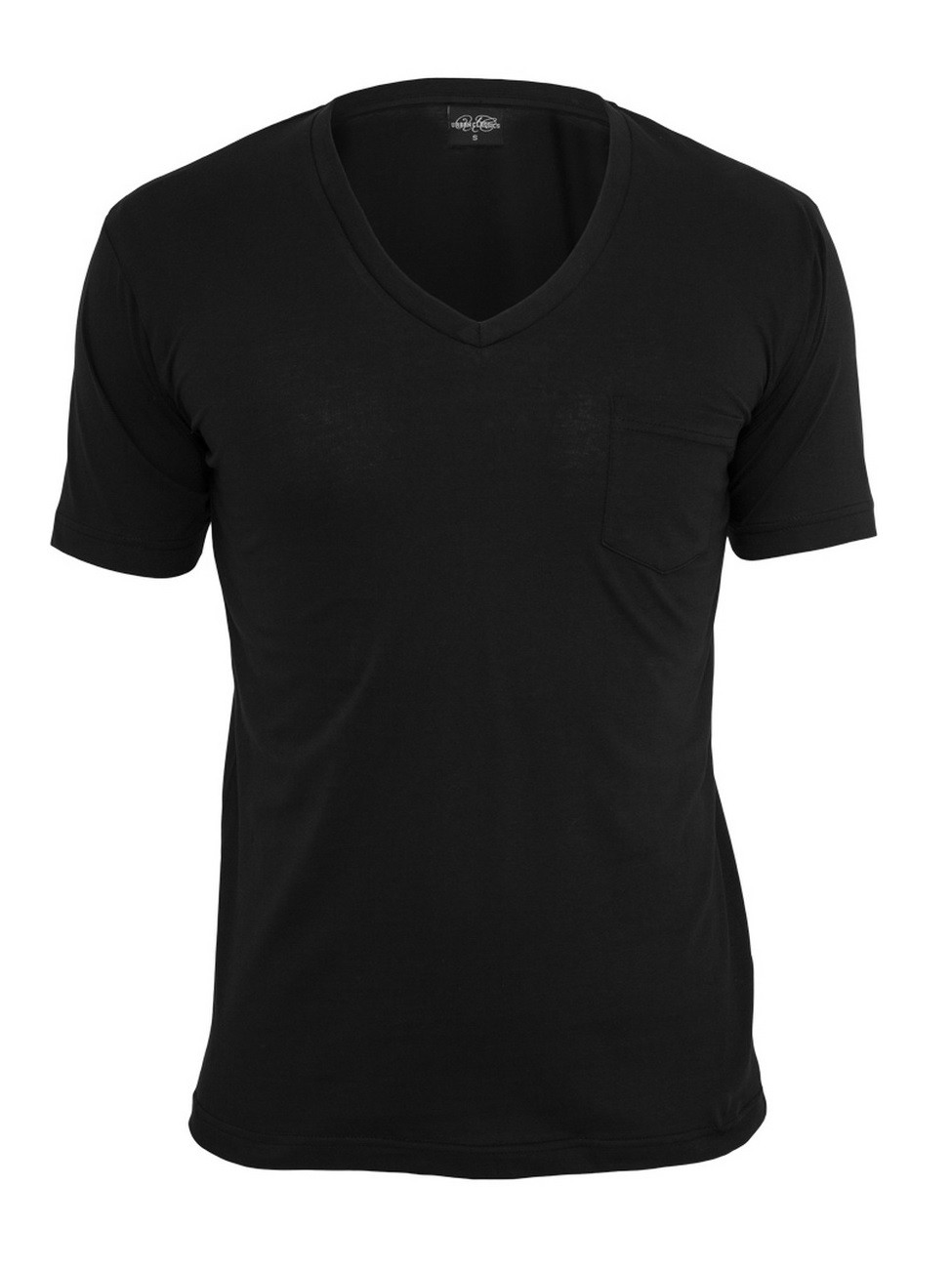 Urban Classics Herren V-Neck Pocket T-Shirt