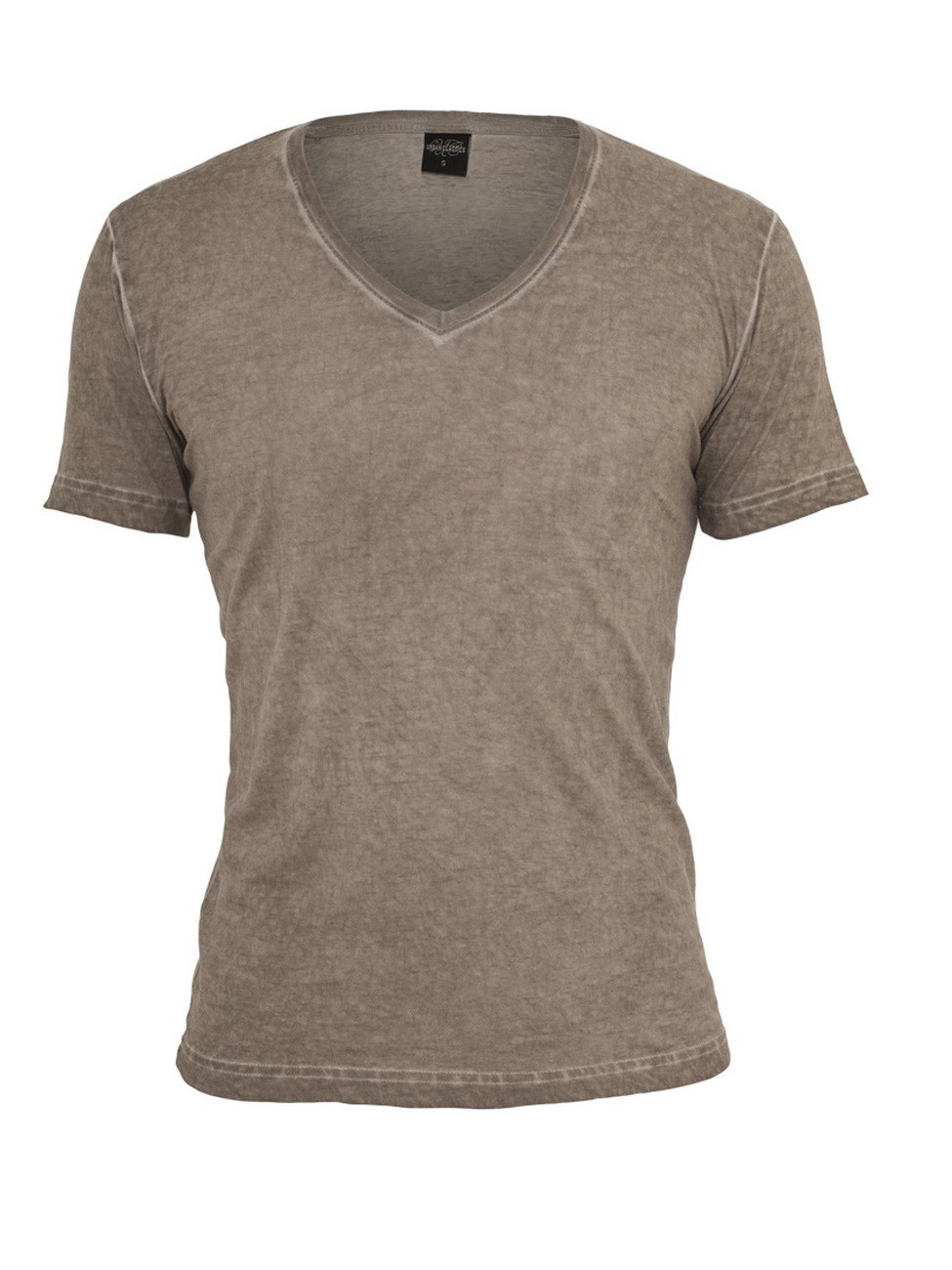Urban Classics Herren Spray Dye V-Neck T-Shirt