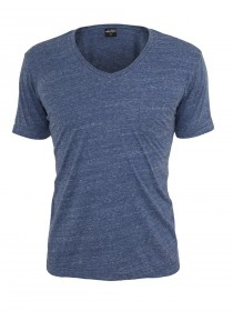 Urban Classics Herren Melange V-Neck Pocket T-Shirt