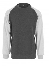 Urban Classics Herren Sweater Inside Out Terry Crew