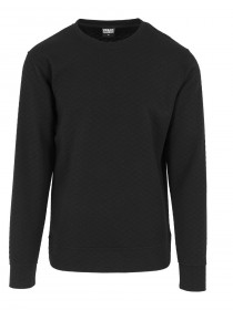 Urban Classics Herren Sweater Diamond Quilt Crewneck