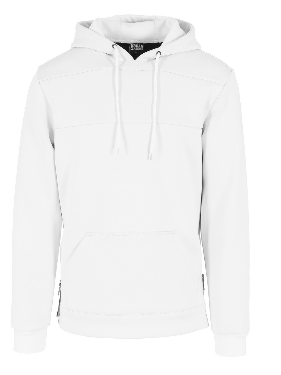 Urban Classics Herren Kapuzen Sweater Neopren Side Zipped Hoody