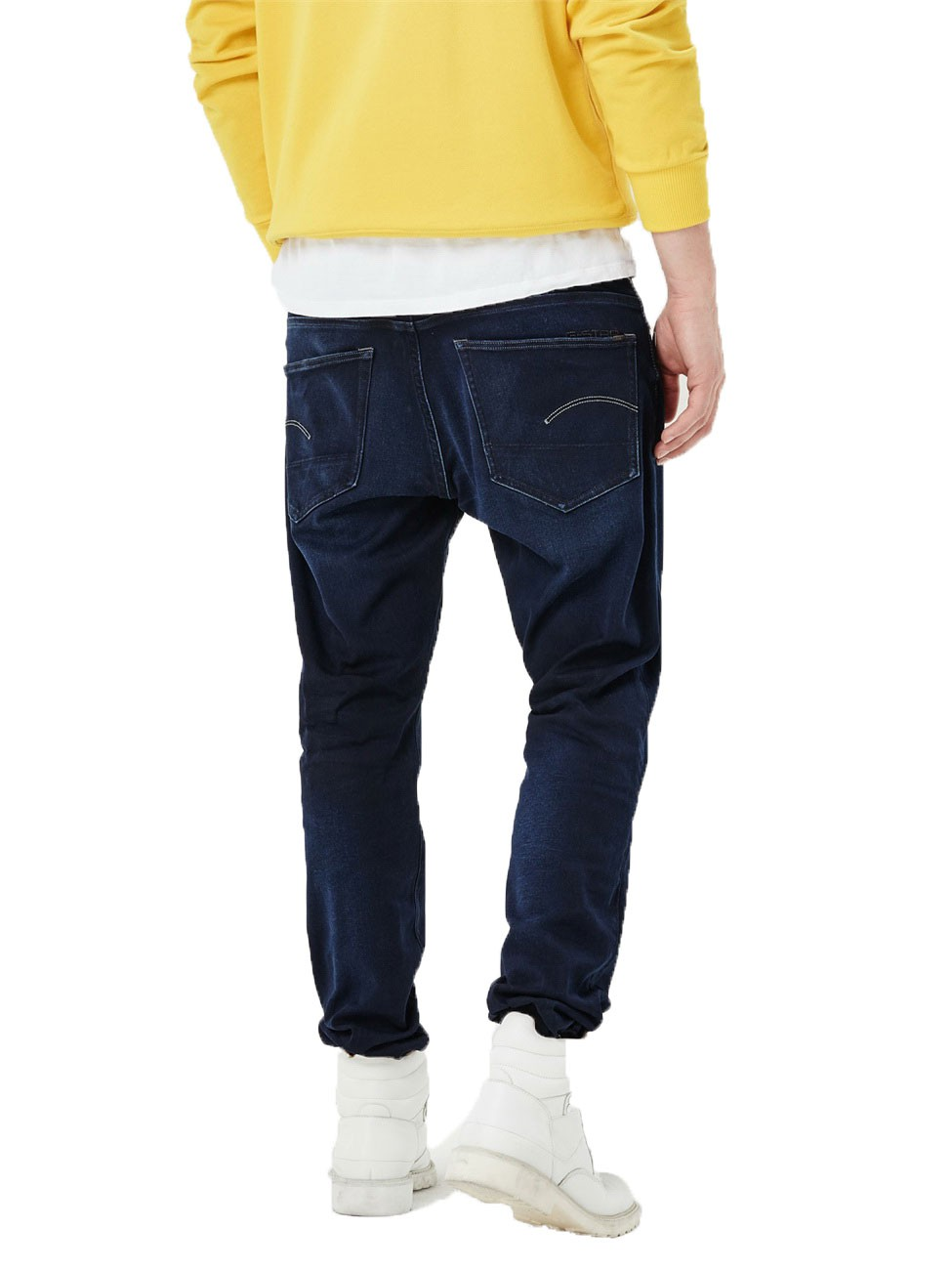 G-Star Herren Jeans 3301 Tapered Fit - Blau - Dark Aged