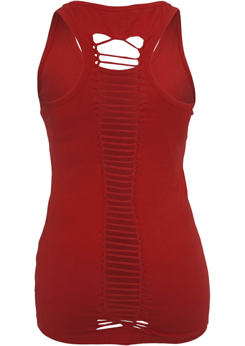 Urban Classics Ladies Cutted Back Tanktop