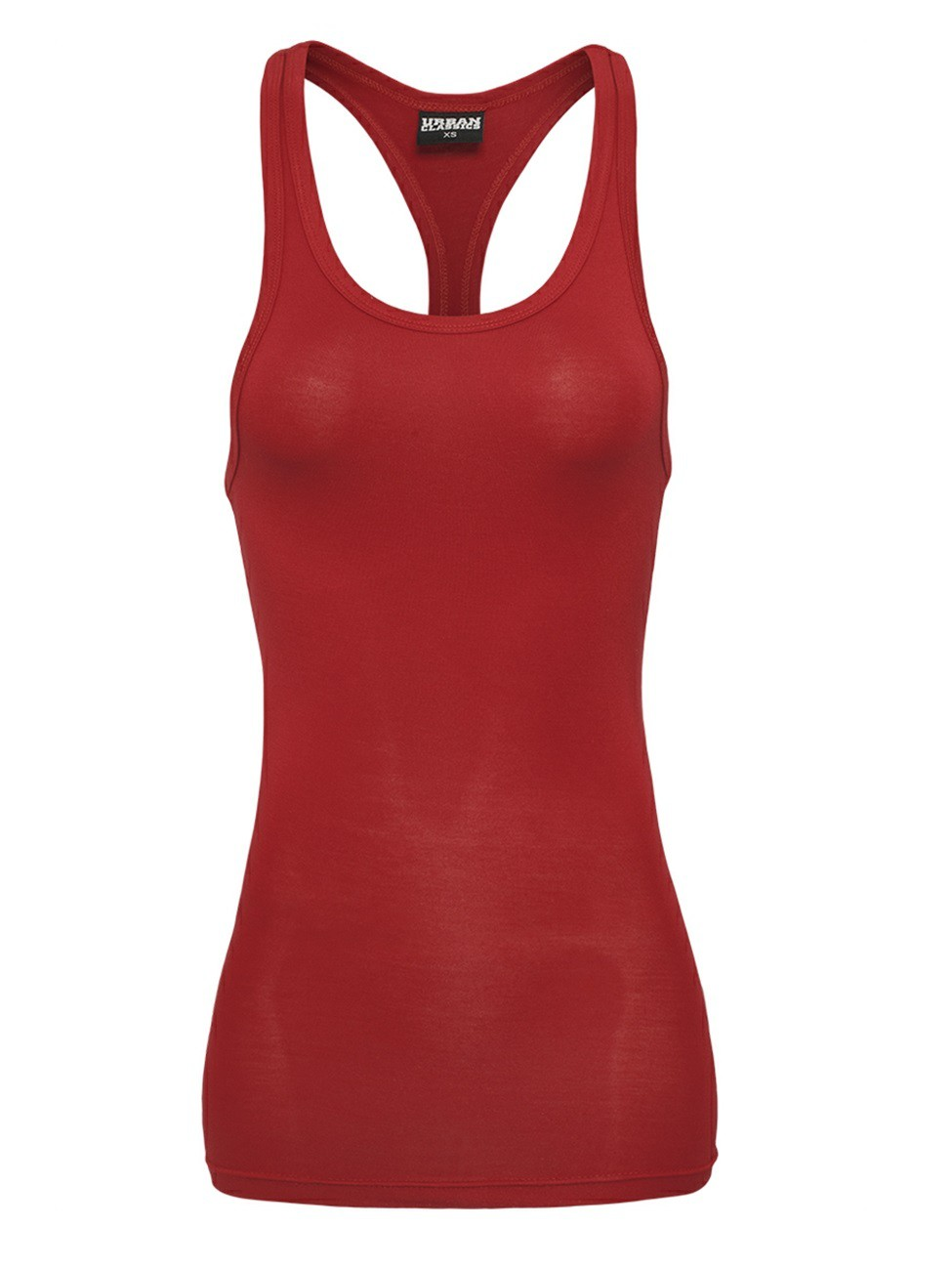 Urban Classics Ladies Fitted Viscon Racerback Tank