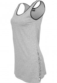 Urban Classics Ladies Leather Imitation Side Knotted Tank