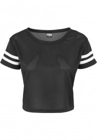 Bild 1 - Urban Classics Ladies Mesh Short Tee