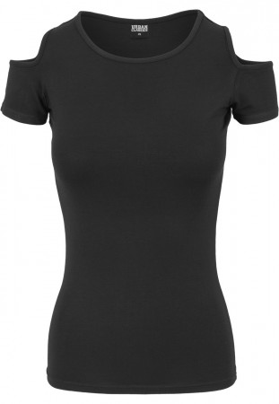 Urban Classics Ladies Cutted Shoulder Tee