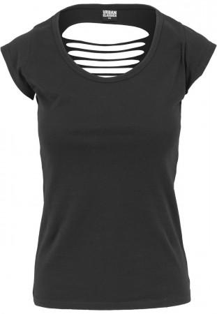 Urban Classics Ladies Cutted Back Tee