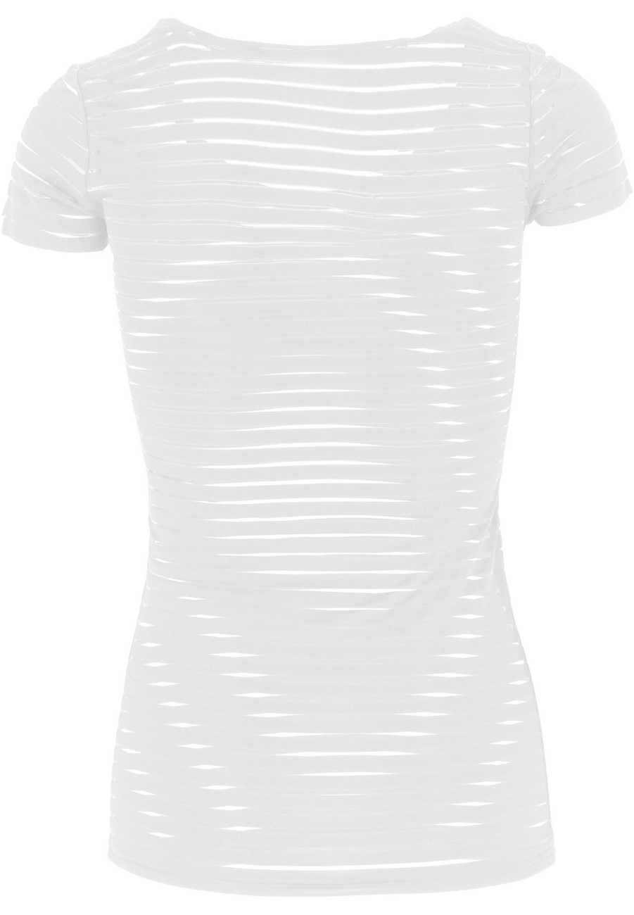 Urban Classics Ladies Semi Transparent Scuba Tee