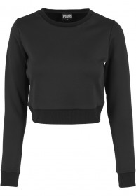 Bild 1 - Urban Classics Ladies Sweater Scuba Cropped Crew