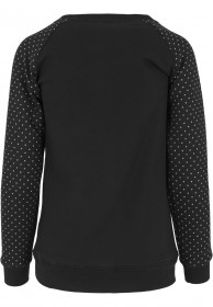 Urban Classics Ladies Sweater Cross Quilt Raglan Crew