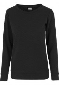 Urban Classics Ladies Sweater Quilt Crew