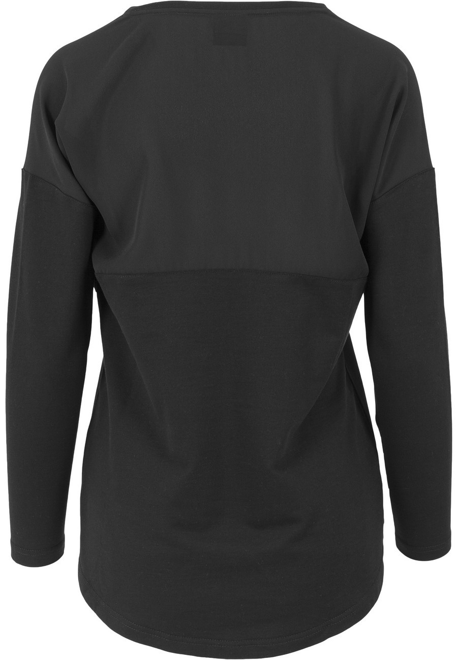 Urban Classics Ladies Sweater Oversize Chiffon Crew